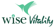 WISE VITALITY LOGO banner