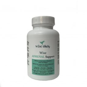Wise Adrenal support front nicole